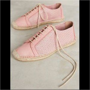 Anthro Perforated Leather Sneaker KMB Jorinda Espa